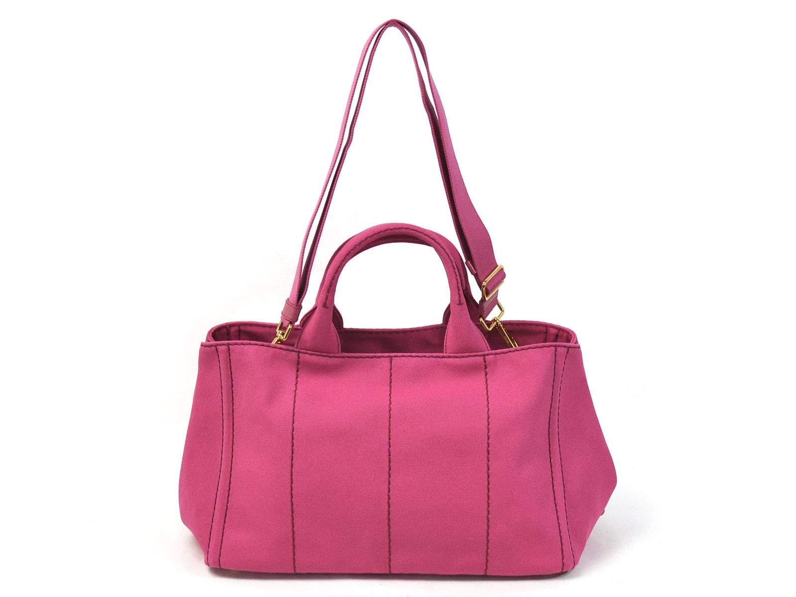7a8e1f9383f415 Pink Prada Bag Ebay. 37028 auth PRADA raspberry pink leather DOUBLE ZIP Tote  ...