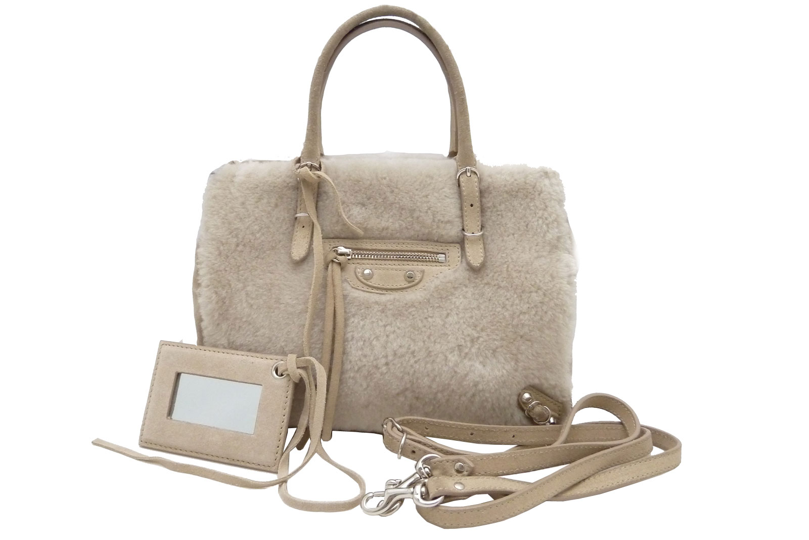 Free shipping BOTH ways on Handbags, Beige, from our vast selection of styles. Fast delivery, and 24/7/ real-person service with a smile. Click or call