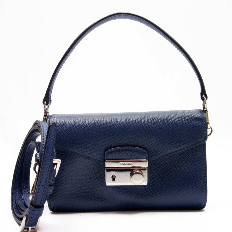 denmark image is loading auth prada saffiano lux 2 way handbag shoulder  88be1 8830c 504ea7d412