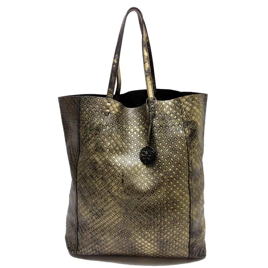 Image Is Loading Auth Bottega Veneta Intrecciomirage Tote Bag Handbag Black