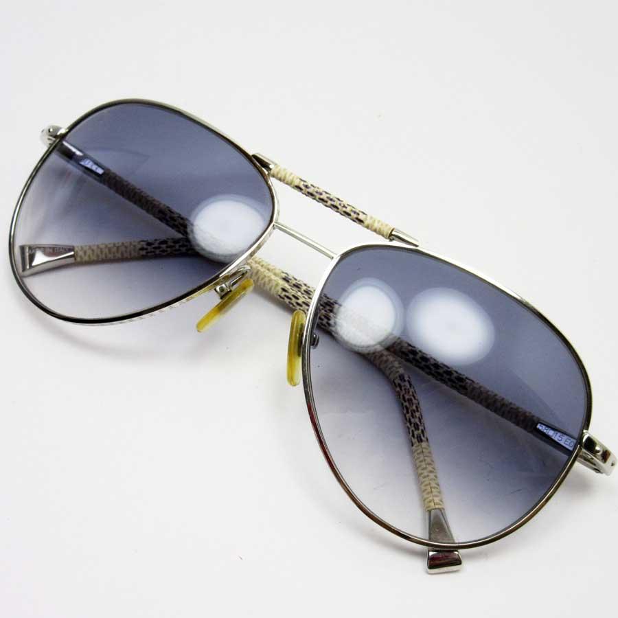 9ff939d4f4 Image is loading Auth-Louis-Vuitton-Damier-Azur-Conspiration-Pilote- Sunglasses-