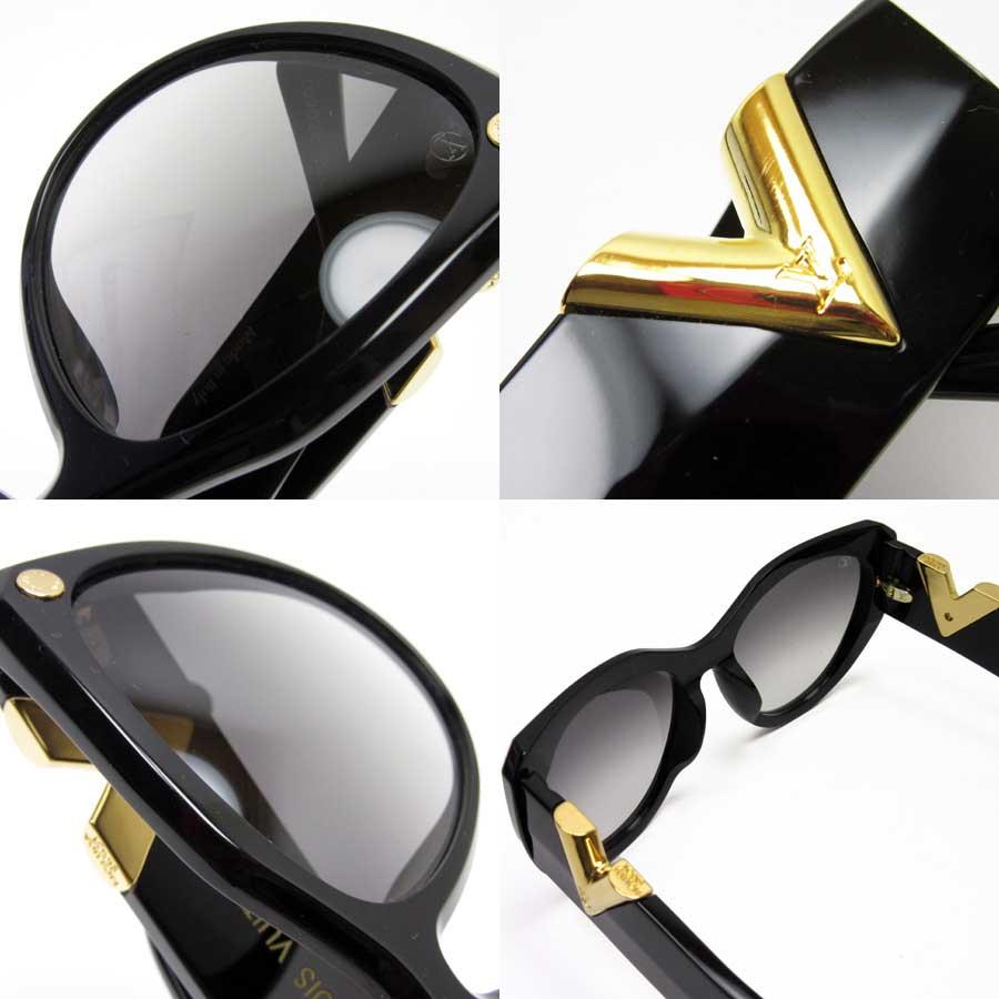 c046af7800 Auth Louis Vuitton MY FAIR LADY SUNGLASSES Sunglasses Black Z0902E - h20681 2  2 of 12 ...