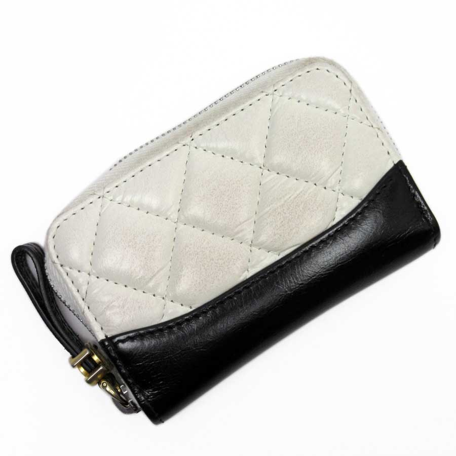 63b508abe5a8 Image is loading Auth-CHANEL-Matelasse-Bicolor-Coin-Purse-Coin-Case-