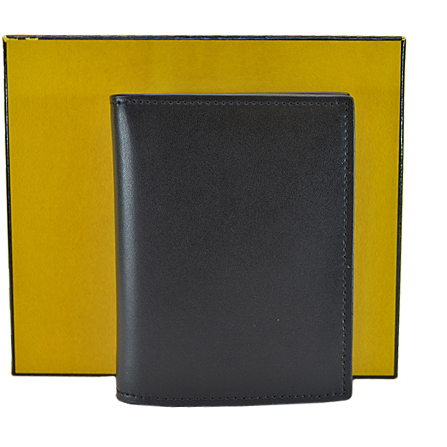 400fdaf025 Details about Auth FENDI F Is Fendi compact Wallet Bifold Wallet Black  Leather/Goldtone r6154
